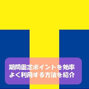 Yahoo!JAPANの期間固定ポイントを効率良く消化する方法