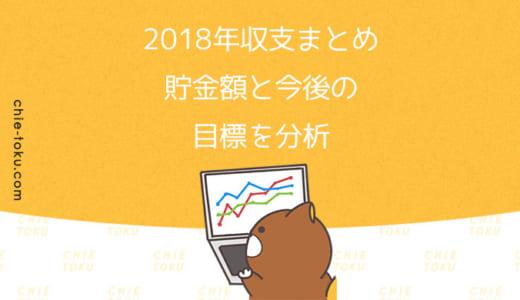 2018年1年間の収支まとめ|着々と資産が増えています